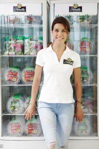 RaquelSánchezSilva es fande las ensaladas envasadas Florette.