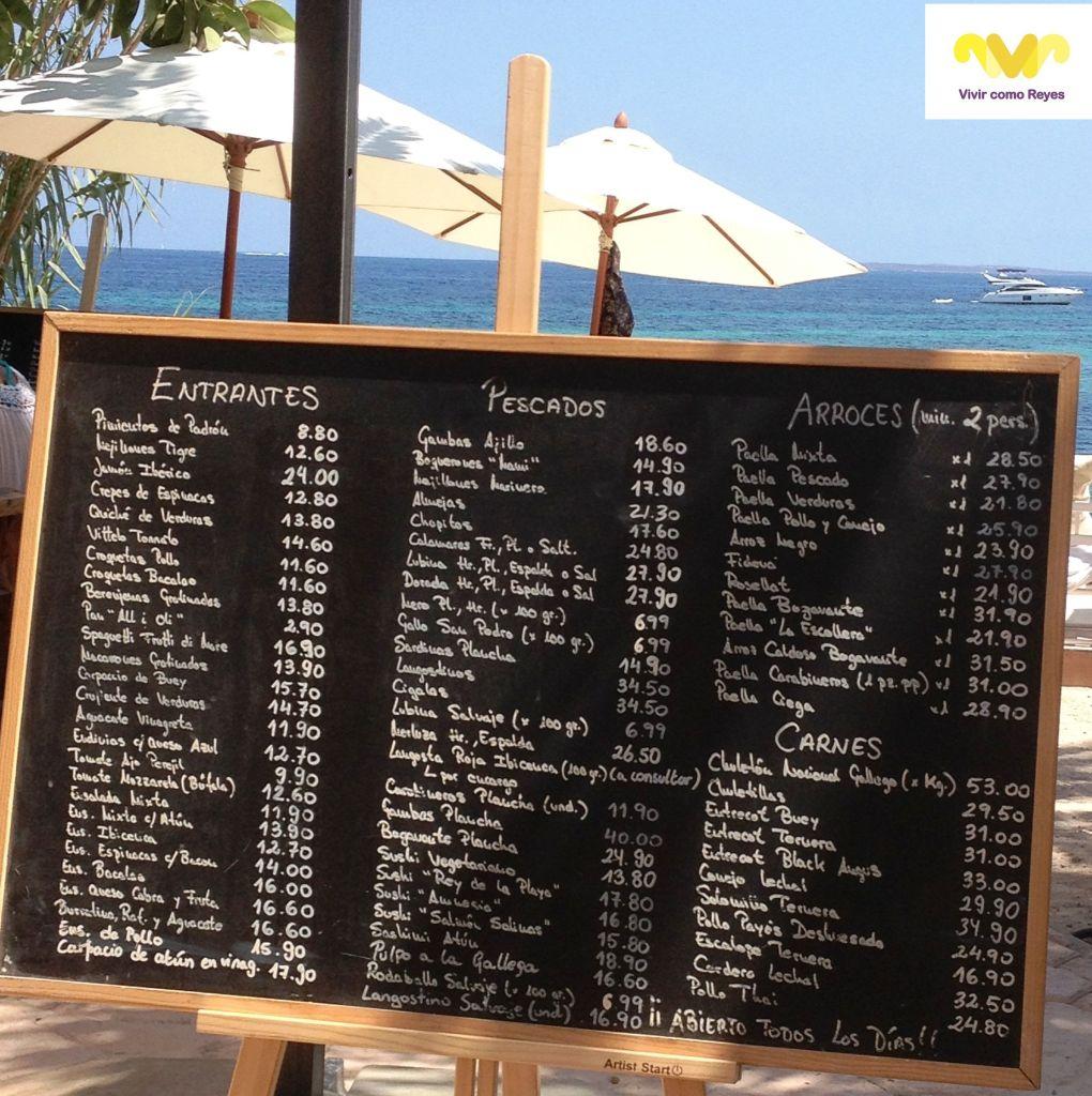 Restaurante La Escollera. Ibiza