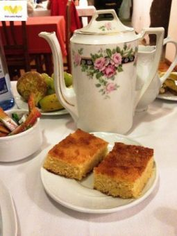 Desayuno en Casa Calvo. O´Pino