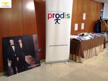 Pedro del Hierro. Rastrillo Solidario a favor de la Fundación Prodis.