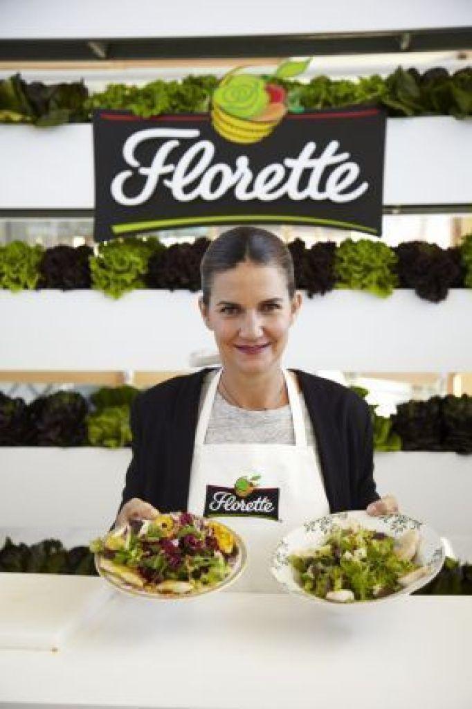 El huerto de Florette. La chef Samantha Vallejo-Nájera nos presenta las nuevas ensaladas de menú completo para este verano.