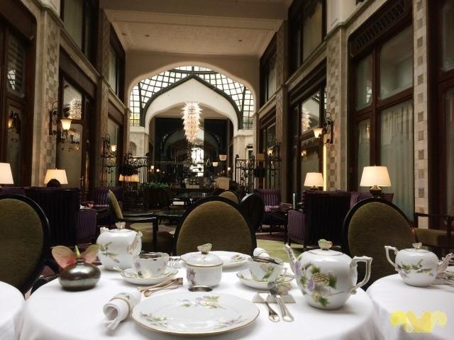Porcelana Herend en el Four Seasons Café