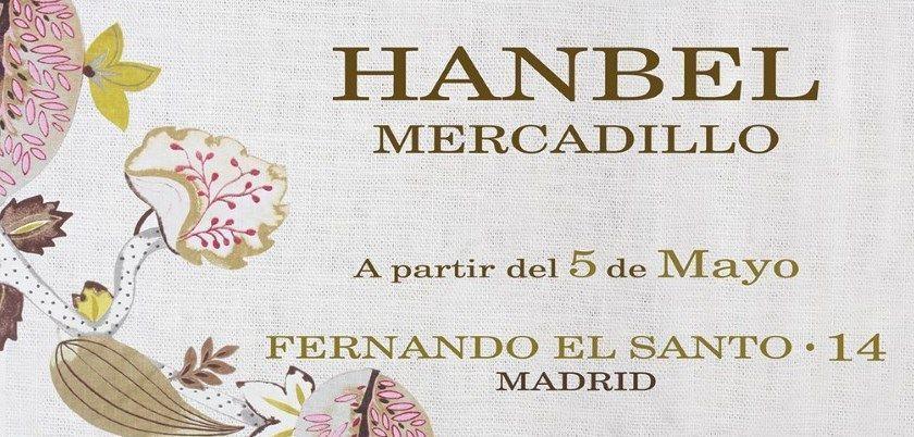 Mercadillo Hanbel Madrid 2017 de Muebles y Objetos de Decoración