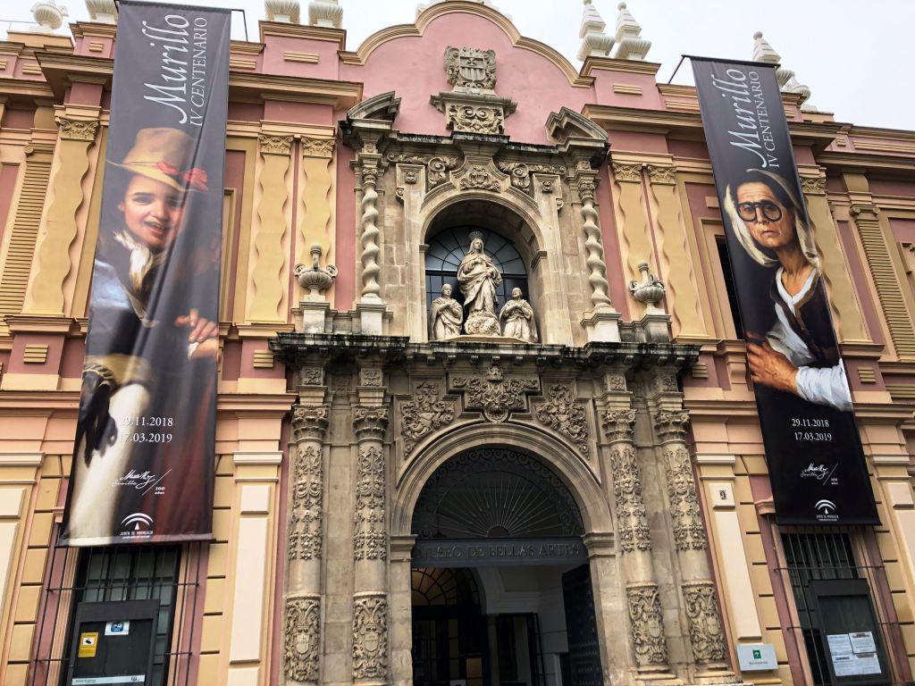 """Exposición """"Murillo IV Centenario"""". Museo de Bellas Artes de Sevilla"""