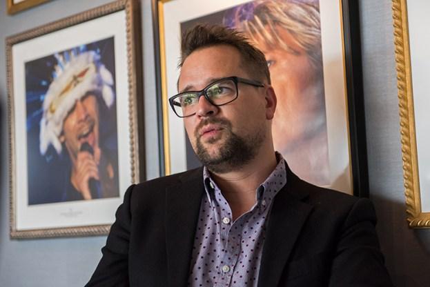 Mathieu Jaton à l'interview avec leMultimedia.info. Photo: Oreste Di Cristino