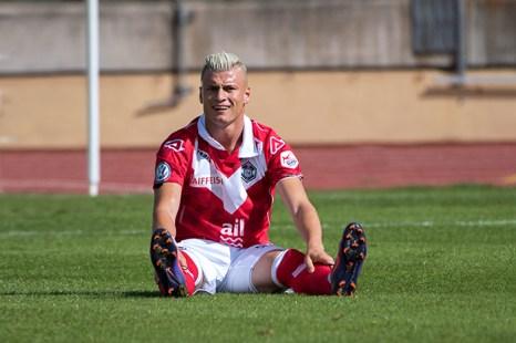 Ezgjan Alioski dépité, n'a pas eu l'espace souhaité au Stade de la Pontaise. © Oreste Di Cristino