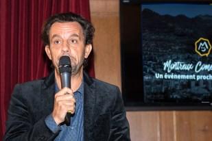 Grégoire Furrer, Président-Fondateur du Montreux Comedy Festival en conférence de presse. © Oreste Di Cristino
