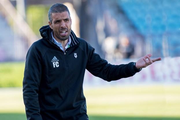 Fabio Celestini n'a pas manqué de témoigner sa désolation au terme de la rencontre. © Oreste Di Cristino / leMultimedia.info
