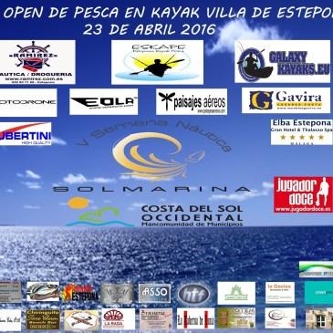 Cronica II Open de Pesca en Kayak Ciudad de Estepona.