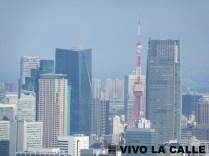 La Torre de Tokio vista desde el Ayuntamiento.
