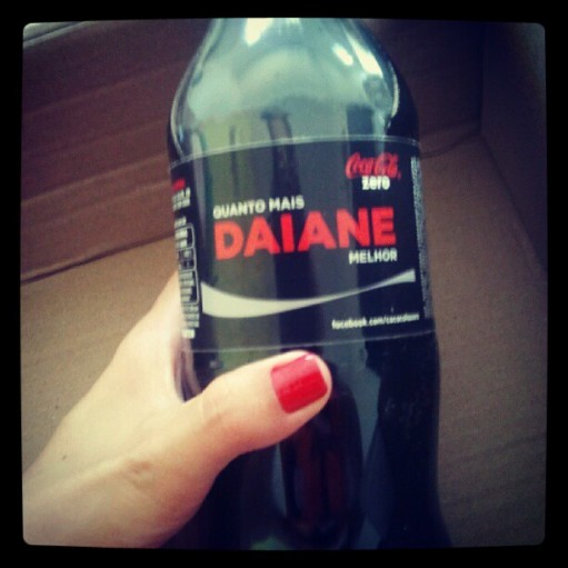 Coca-cola da Daiane