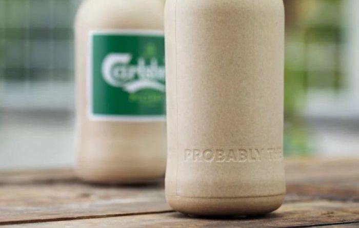 Empresas apresentam garrafas à base de plantas que se degradam em um ano