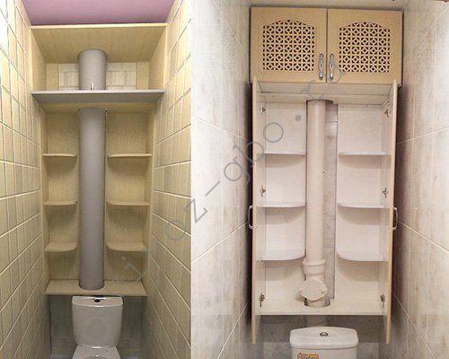 Сделать полку в туалете своими руками из фанеры, дерева ...