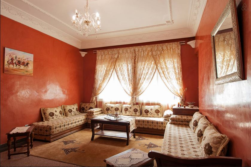Louez notre appartement casablanca et rencontrons nous for Salon marocain casablanca