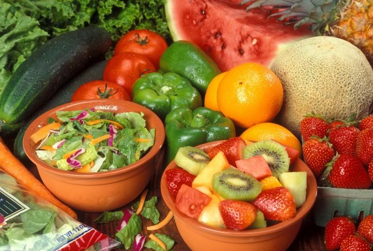 Manger paléo, les fruits et légumes