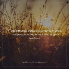 Changez votre vie