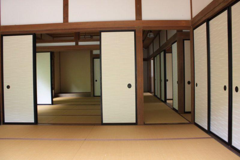 la maison traditionnelle japonaise de a