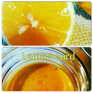 Crème de citron-lemon curd