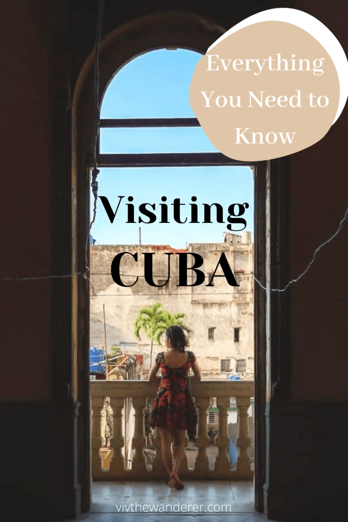 Travel from U.S. to Cuba Viv the Wanderer
