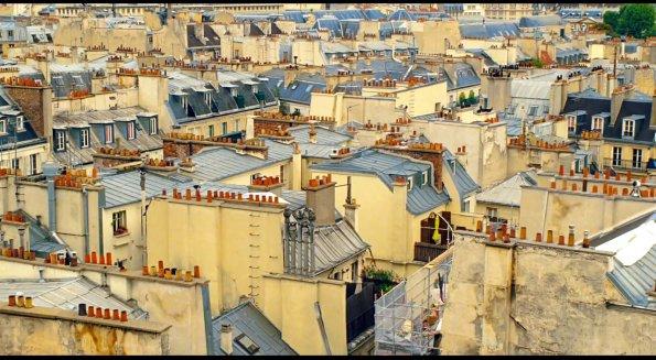 Những mái nhà Paris