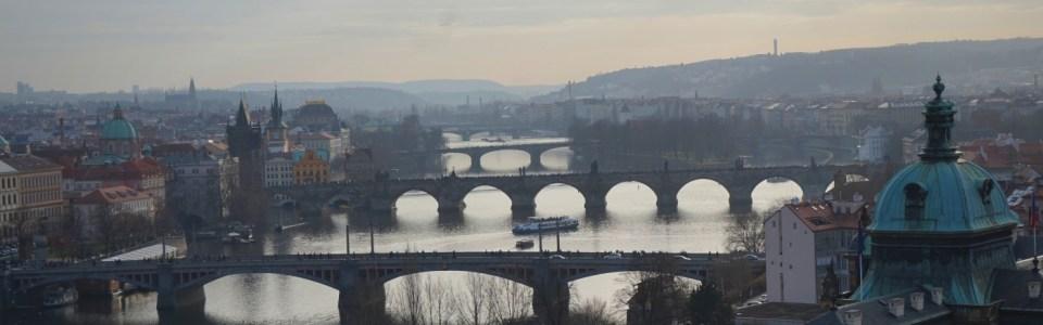 """Praha chụp từ công viên """"Letná"""""""
