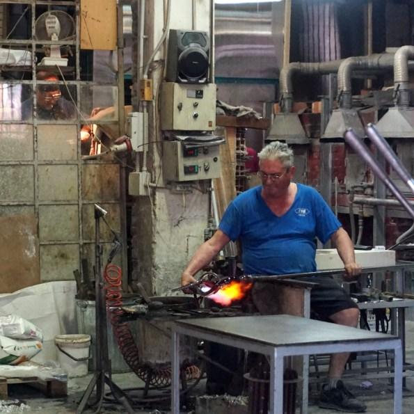 Thợ thôi thuỷ tinh ở Murano