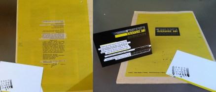 Catalog and Invitation // Snapshots / Hagit Keysar 2009