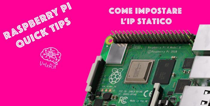 come impostare un ip statico al raspberry pi