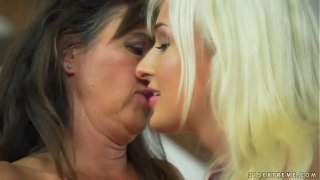 Mature woman and her younger lesbian friend – Mariana and Daisy Lee