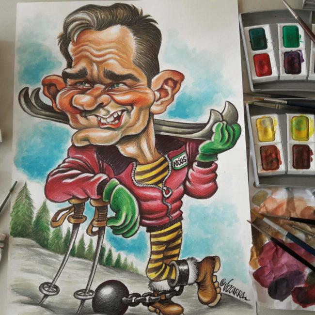 Resultado de imagen para Caricaturas de Vizcarra