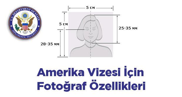 Amerika Vizesi Fotoğraf Özellikleri