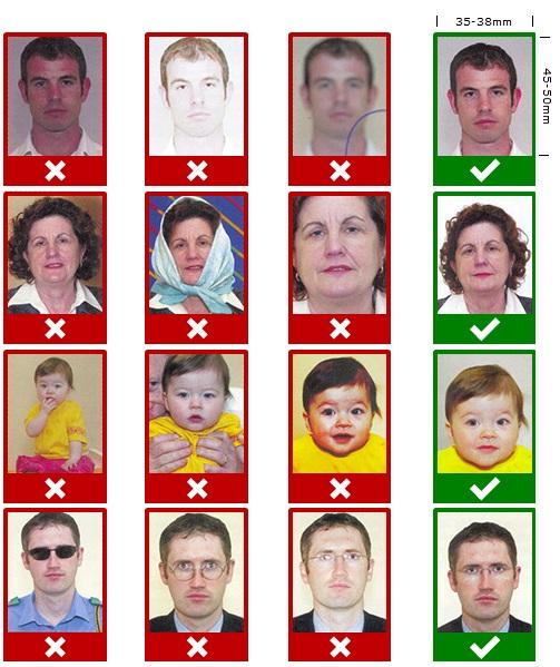İrlanda vizesi fotoğraf