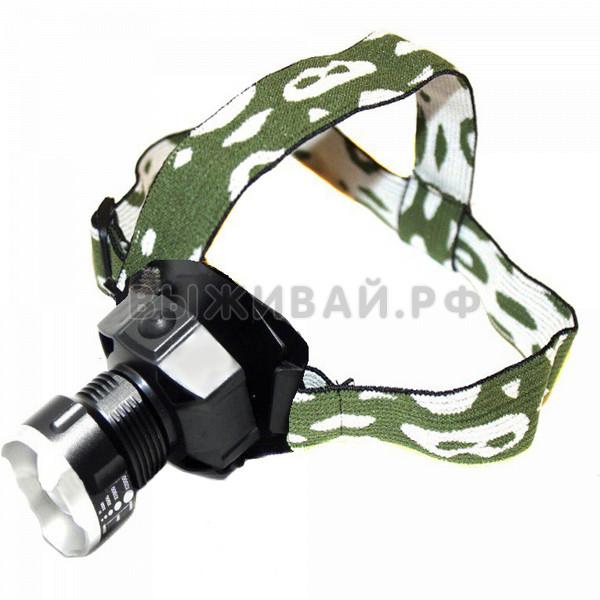 Налобные фонари: Налобный фонарь Bailong BL-6907
