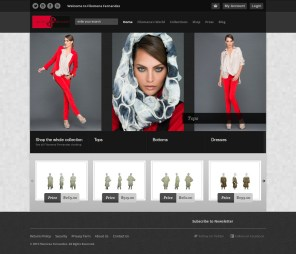 Filomena Fernandez Fashion Magento Store