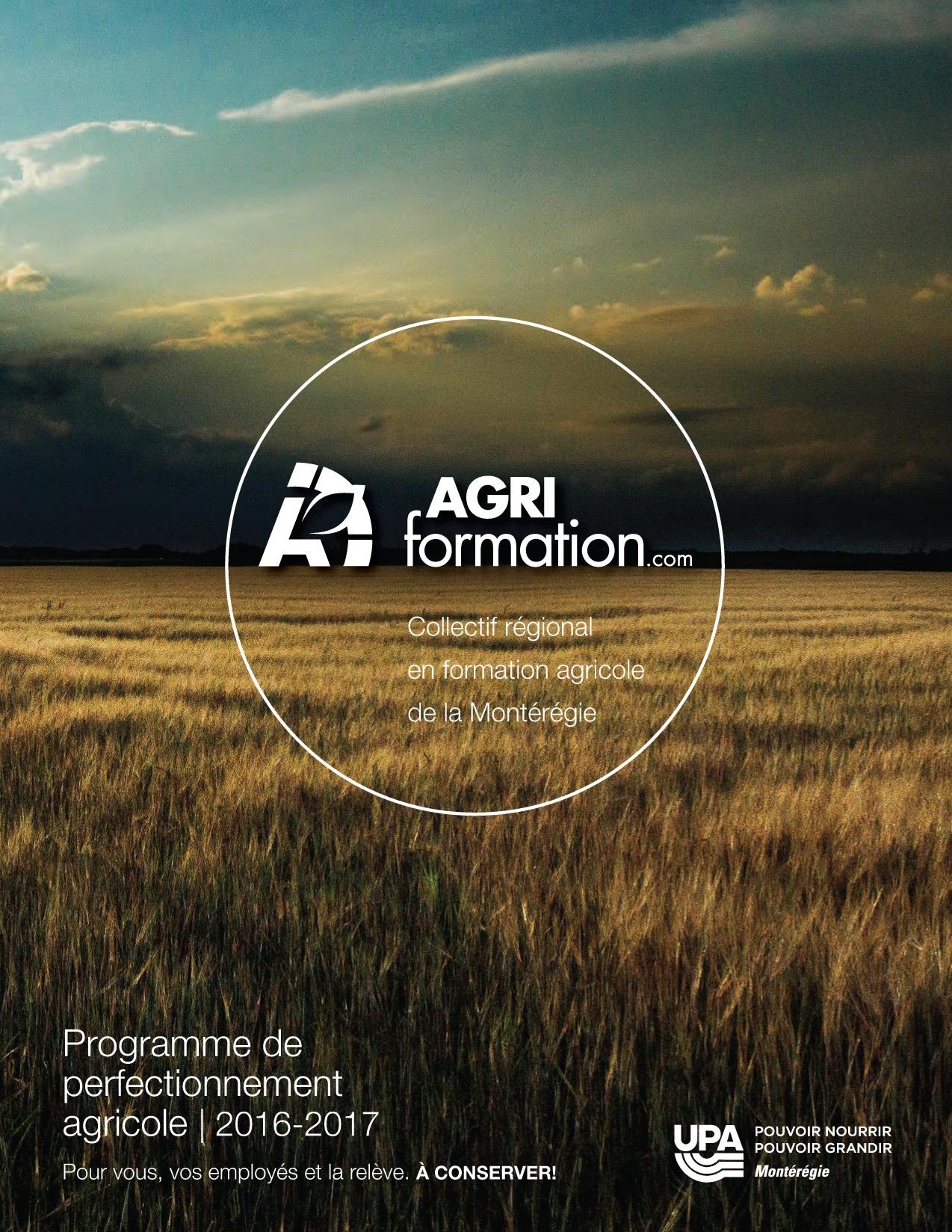 Agriformation | Perfectionnement agricole