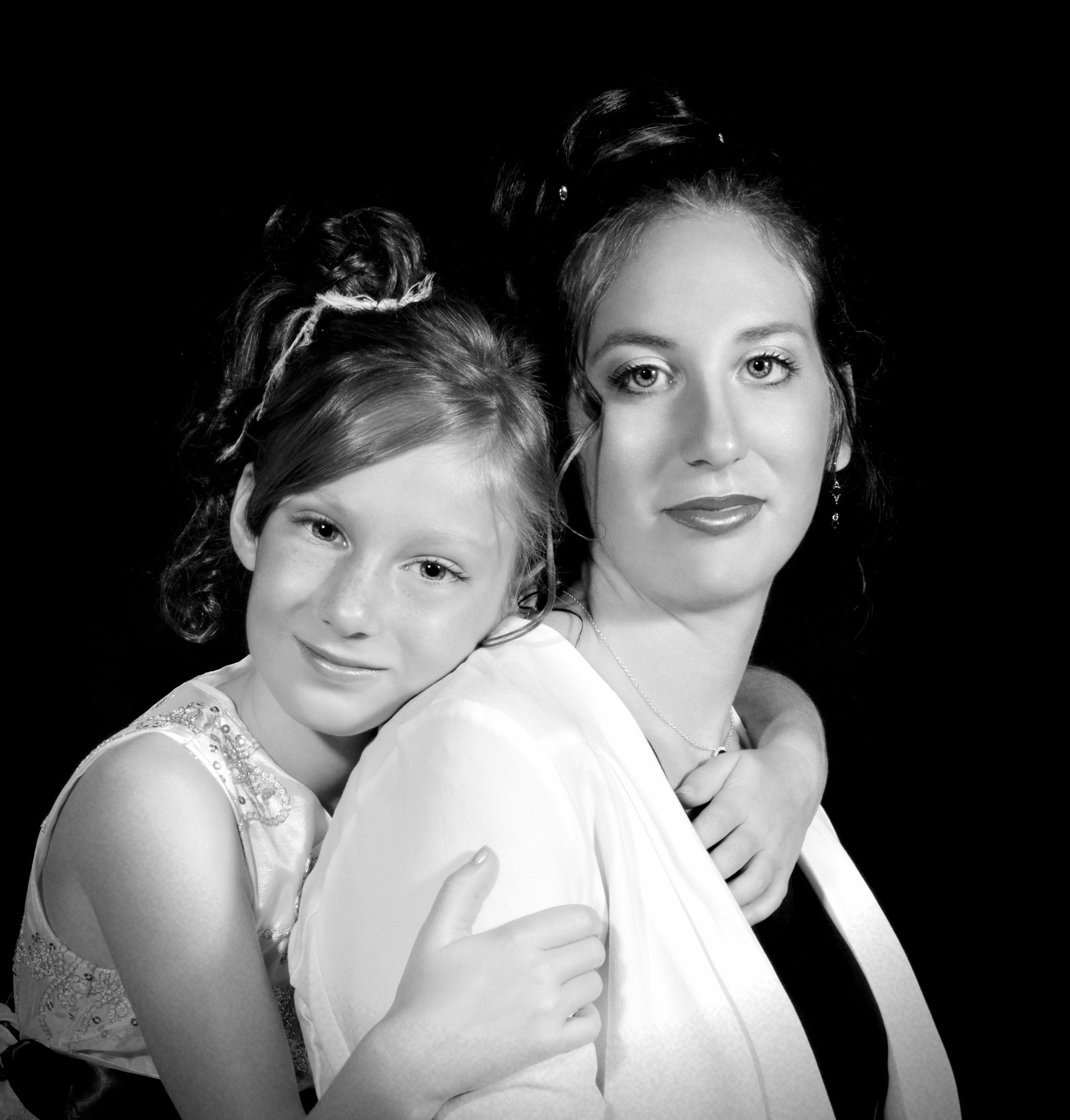 Portrait Classique noir et blanc.