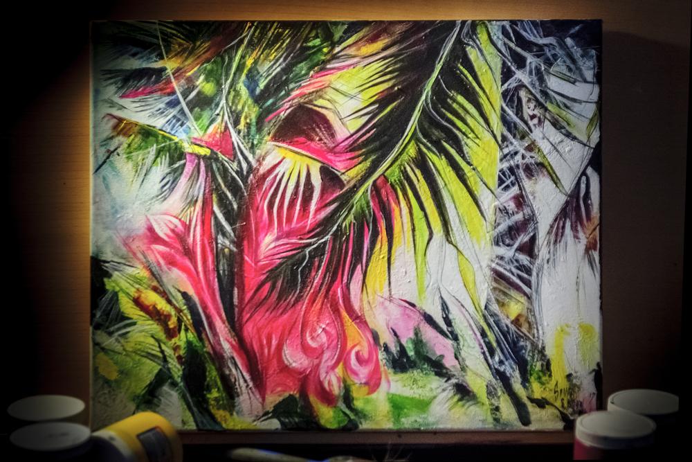 Bachata et peinture