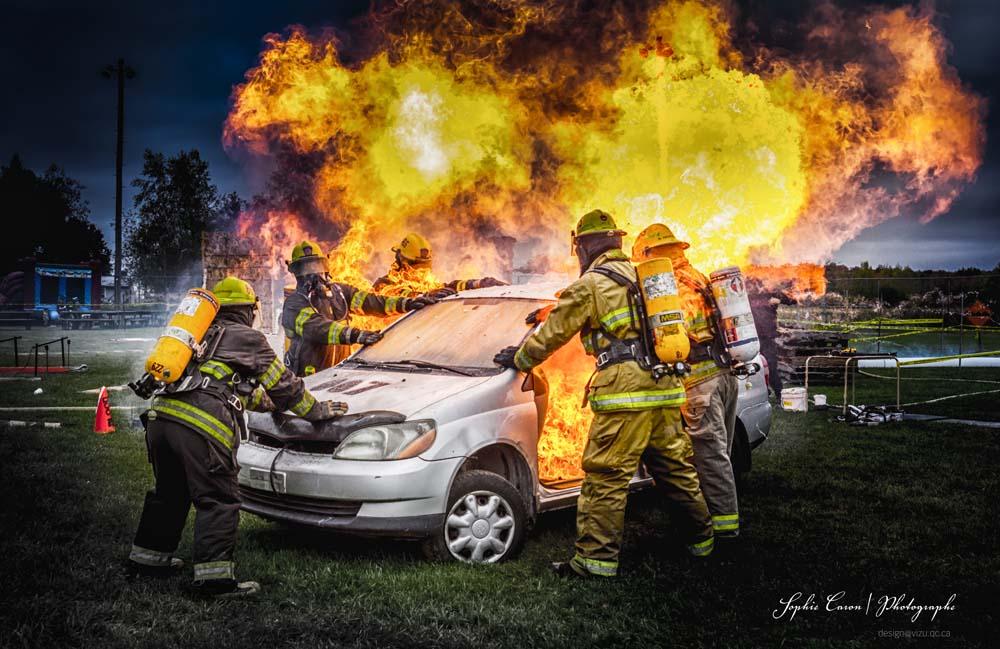 Compétition Extrême de Pompiers