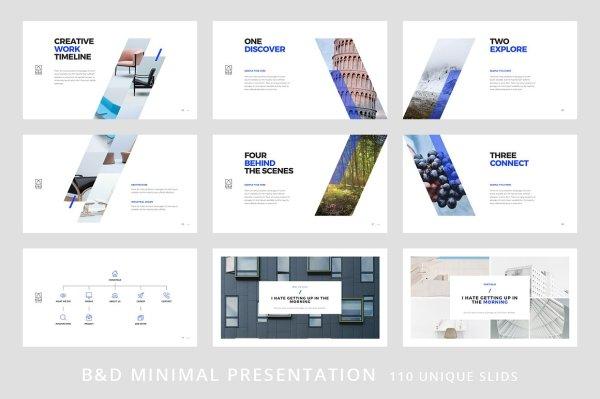 BampD Keynote Template Vizualus