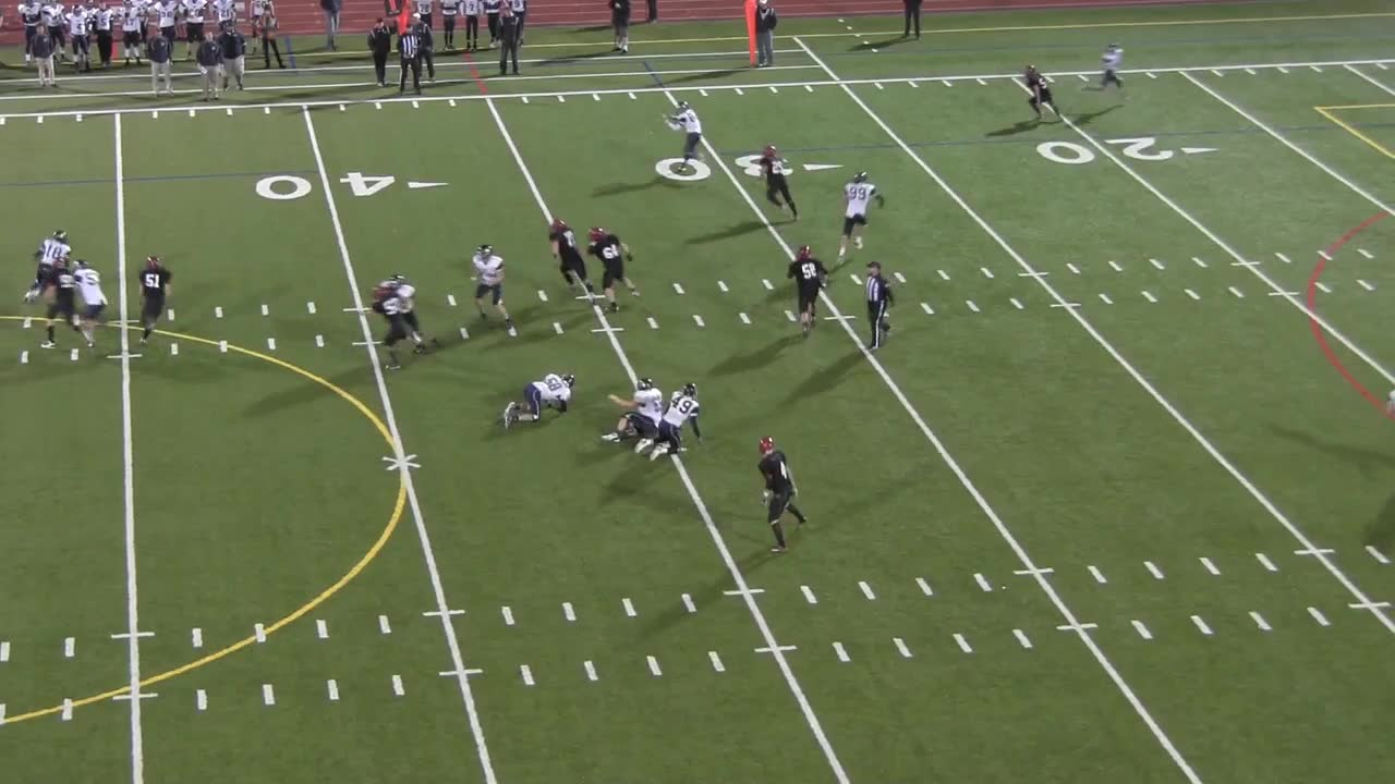 vs. Mt. Baker High - Josh Krause highlights - Hudl