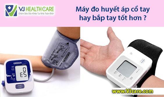 Máy đo huyết áp cổ tay hay bắp tay tốt hơn ASIA Health