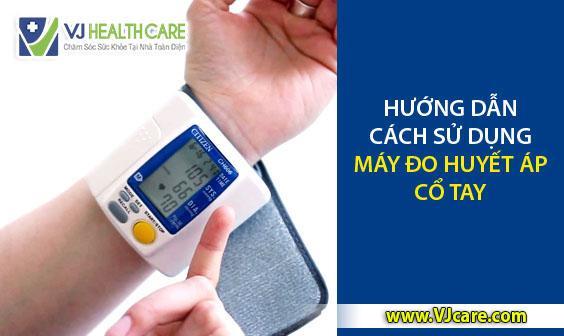 hướng dẫn cách dùng máy đo huyết áp cổ tay Omron