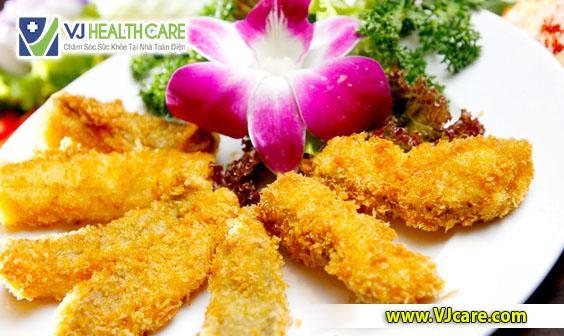 rò hậu môn không nên ăn thực phẩm chiên xào, nhiều dầu mỡ ASIA Health
