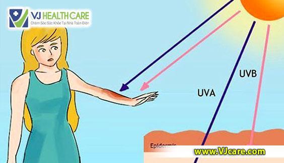 tác hại của ánh nắng mặt trời ánh nắng mặt trời tia tử ngoại tia uv ASIA Health