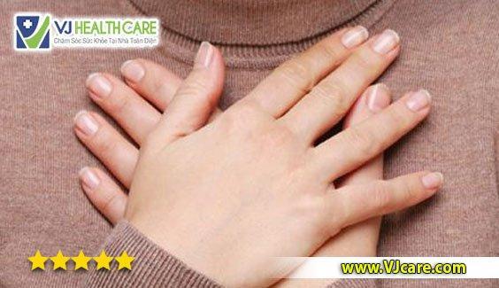hồi hộp đánh trống ngực bệnh tim mạch bệnh tim bệnh huyết áp