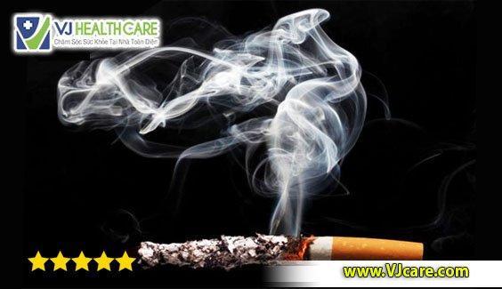 tác hại của khói thuốc lá thuốc lá
