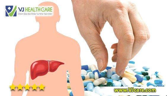 thuốc bổ gan thuốc mát gan hạ men gan