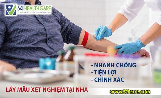 giá dịch vụ lấy mẫu xét nghiệm tại nhà asia health lấy máu xét nghiệm tại nhà