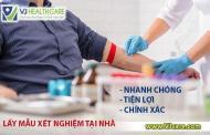 Giá dịch vụ lấy máu xét nghiệm tại nhà VJcare