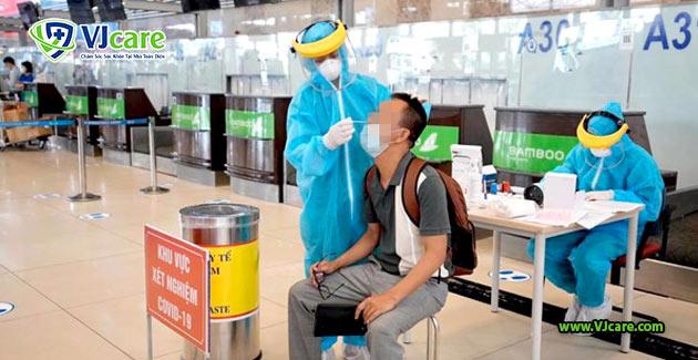 khong bat buoc xet nghiem covid doi voi nguoi da tiem 1 mui vaccine